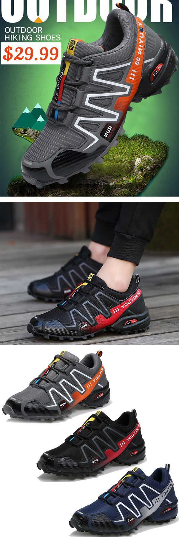 US$29.99 + Free Shipping. Outdoor Shoes Breathable Waterproof Anti-slip Wear-resistant Running Hiking Climbing Leisure. Outdoor hiking shoes with Low Price & High Quality. #shoes #climbingshoes