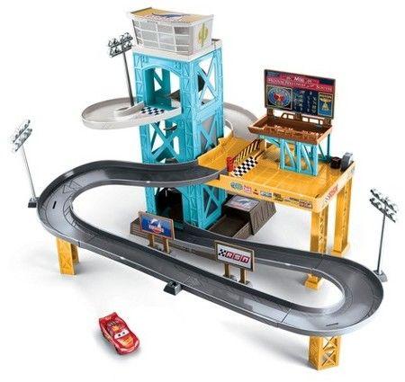 Cars Disney Pixar Cars 3 Piston Cup Motorized Garage
