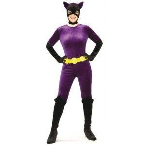 Déguisement catwoman femme Gotham city, licence, Halloween