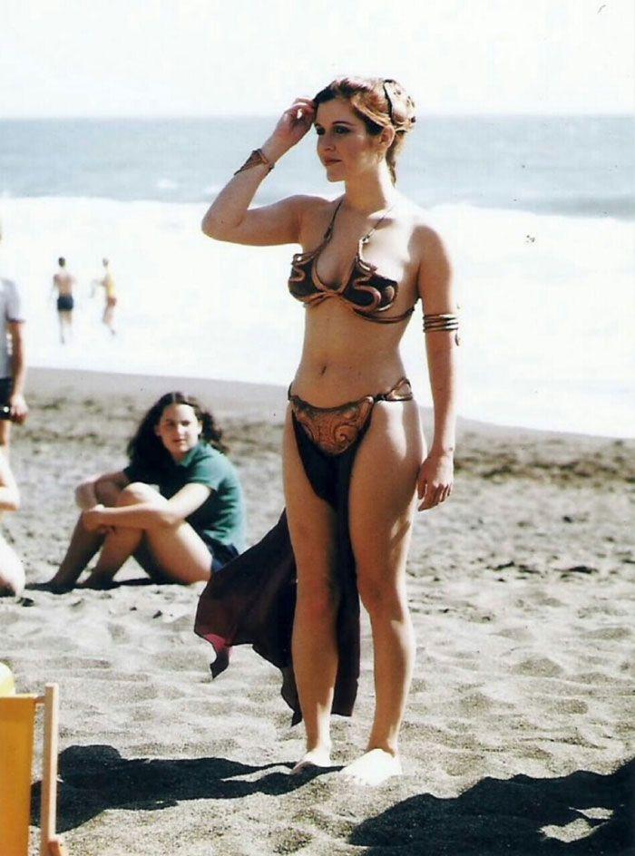 Carrie Fisher fait la Promotion du retour du Jedi en 1983 (4)