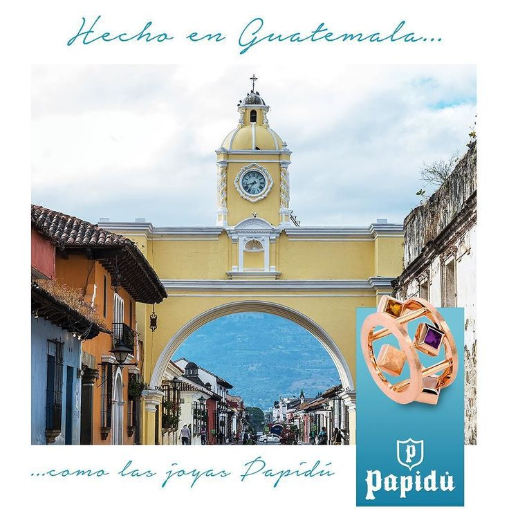 Antigua Guatemala es hecha en Guatemala al igual que nuestras joyas. #JoyeriaPapidu #PapiduOriginals #Trendy #PerhapsYouNeedaLittleGuatemala #Guatemala #antiguaguatemala