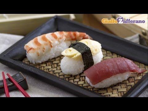 Nigiri - come fare il sushi in casa, la ricetta di Giallozafferano