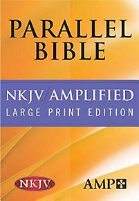Parallel Bible-PR-Am/NKJV-Large Print (Burgundy) | Hendrickson Publishers | LifeWay Christian