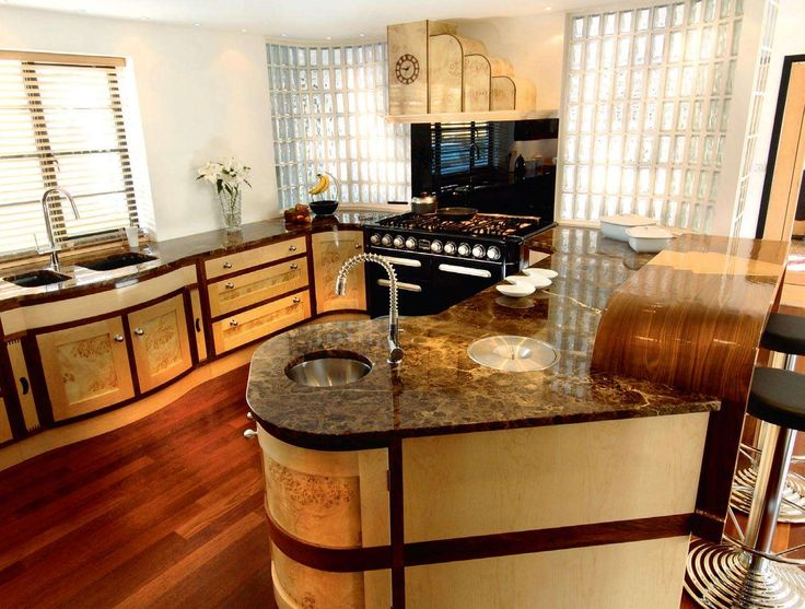 Art Deco Kitchens arts & crafts and art deco style kitchens | period living