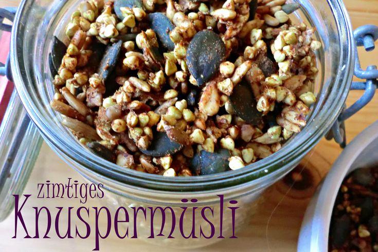 Knuspermüsli mit Buchweizen – Zimtcrunchy | Nordisch Roh