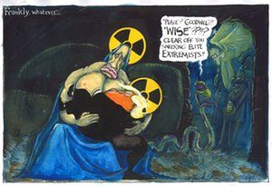Martin Rowson on Trump and Putin's nuclear comments – cartoon | Opinion | The Guardian
