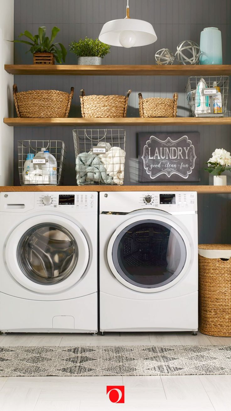 how to guides video laundry room countertop laundry on top new diy garage storage and organization ideas minimal budget garage make over id=35459