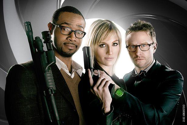 "Alison Haislip IS Jane Bond, 008 in ""You Only Nerd Twice"" via The Nerdist."