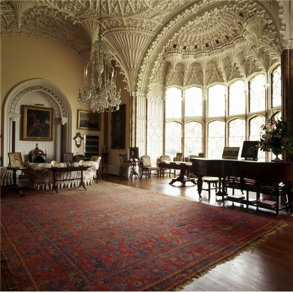 ♜ Shabby Castle Chic ♜ rich and gorgeous home decor - Arbury Hall - Country Life images