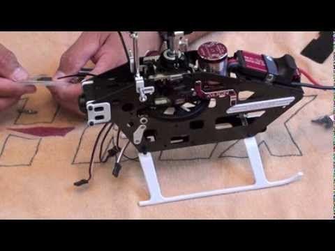 Trex450L Dominator Frame Assembly Part 2 of 2