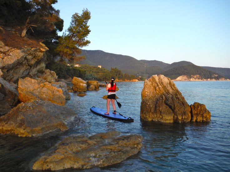 Sunset tour Skopelos, Greece.
