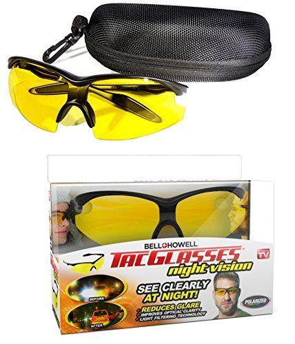 44d8e019d9 Bell Howell TAC GLASSES by Bell Howell Sports Polarized Sunglasses for Men  Women