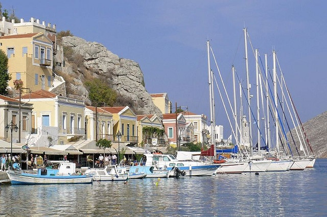 Yachts, #Symi Island, #Greece