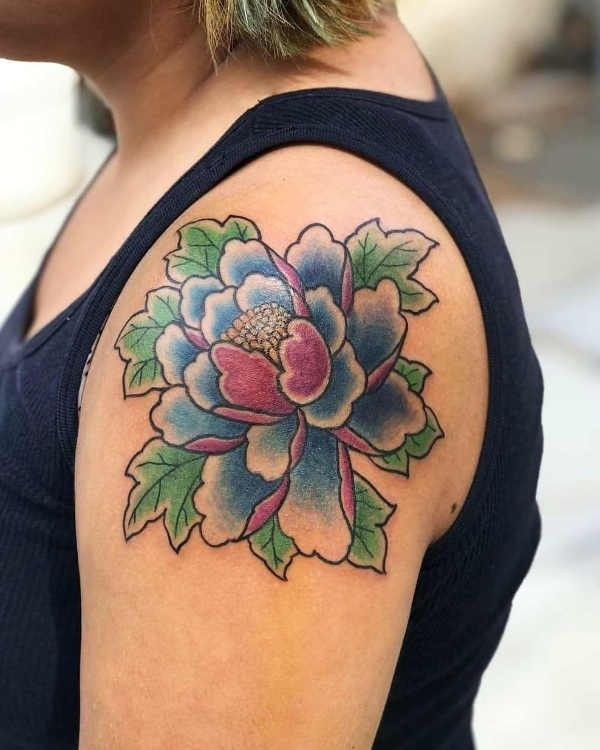 Tatuaż Piwonie Znaczenie Historia 40 Zdjęć Pomysł Na