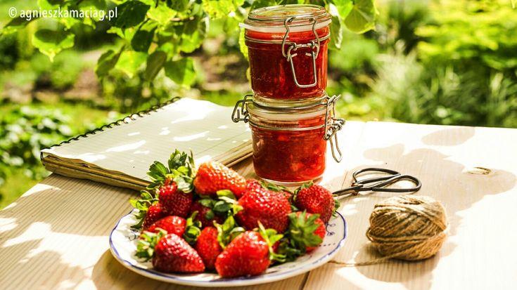 Cudowne właściwości truskawek oraz przepis na najprostszy i najszybszy dżem z truskawek z wanilią