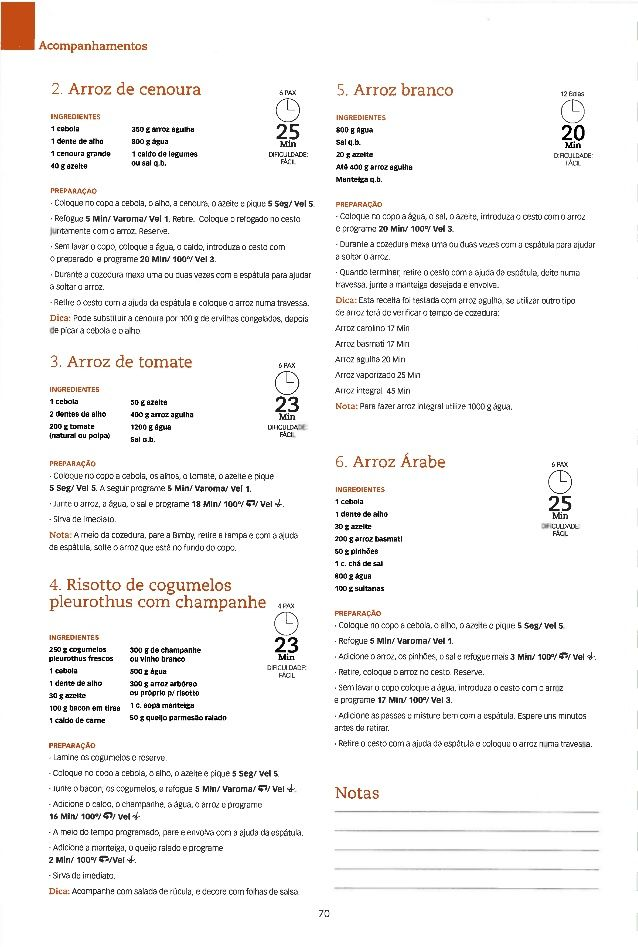 Bimby as receitas essenciais (março 2010)