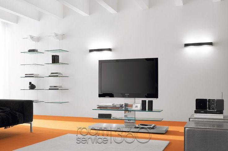 Panorama Designer TV Stand by Cattelan Italia