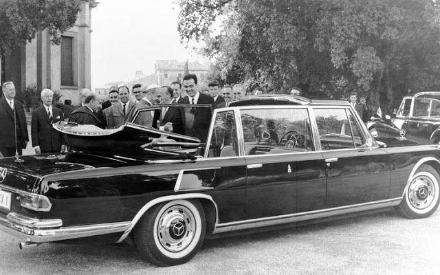 1965 Mercedes Benz 600 W100 Pullman Landaulet Bulletproof Armored Limousine Pope Mercedes Benz Mercedes Benz Convertible Mercedes