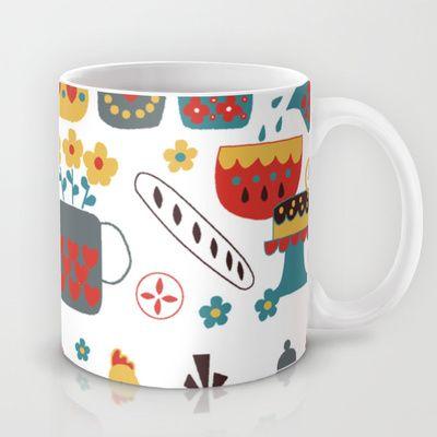 Kitchen Mug by Kathrin Legg - $15.00