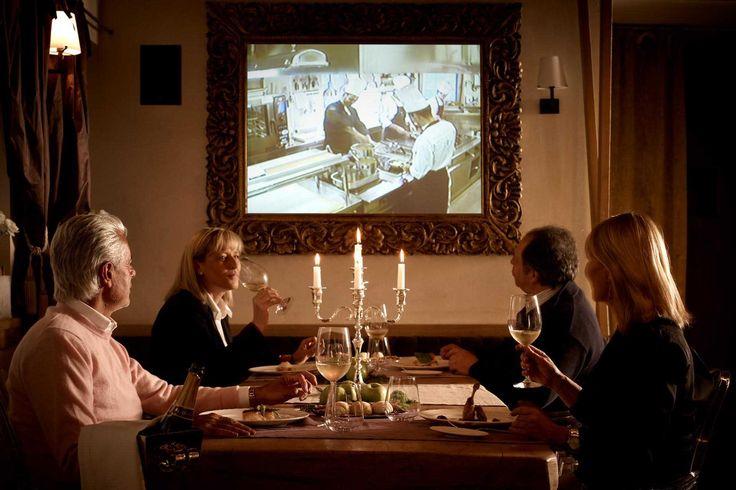Il design hotel DV Chalet a Madonna di Campiglio offre alta cucina. #trentinocharme  #madonnadicampiglio #stellamichelin