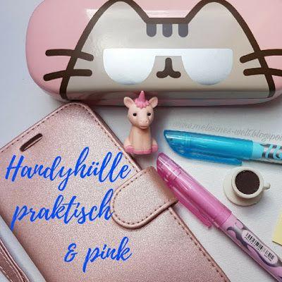 Praktisch - Handyhülle zum Organisieren - Aufbewahrung Ladekabel und Kopfhörer #pink #Brillenbox #birllenetui auf www.melusineswelt.de