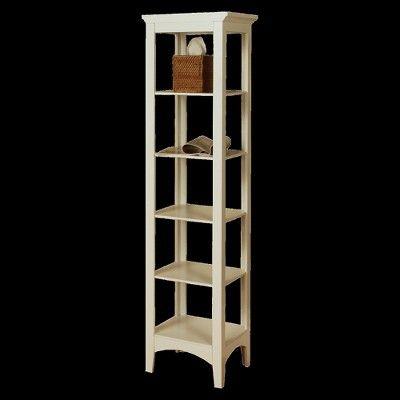 Elegant Home Fashions Madison Avenue Linen Cabinet - White