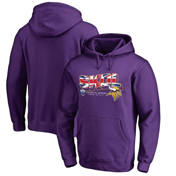 Minnesota Vikings Fanatics Branded 2017 NFL London Game - Purple