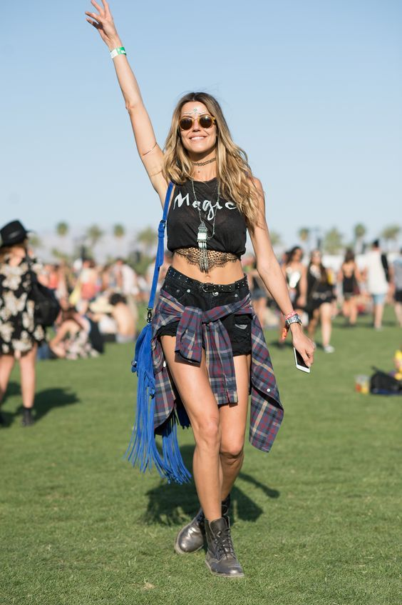 Living for Festivals: Best Coachella Festival Outfits To Try This Year - ADORENESS