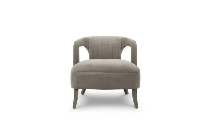 KAROO Armchair | Modern Chairs | Velvet Chair | Chair Design | #modernchairs | #livingroomchairs | #armchairs | Find more at: http://brabbu.com/category/upholstery
