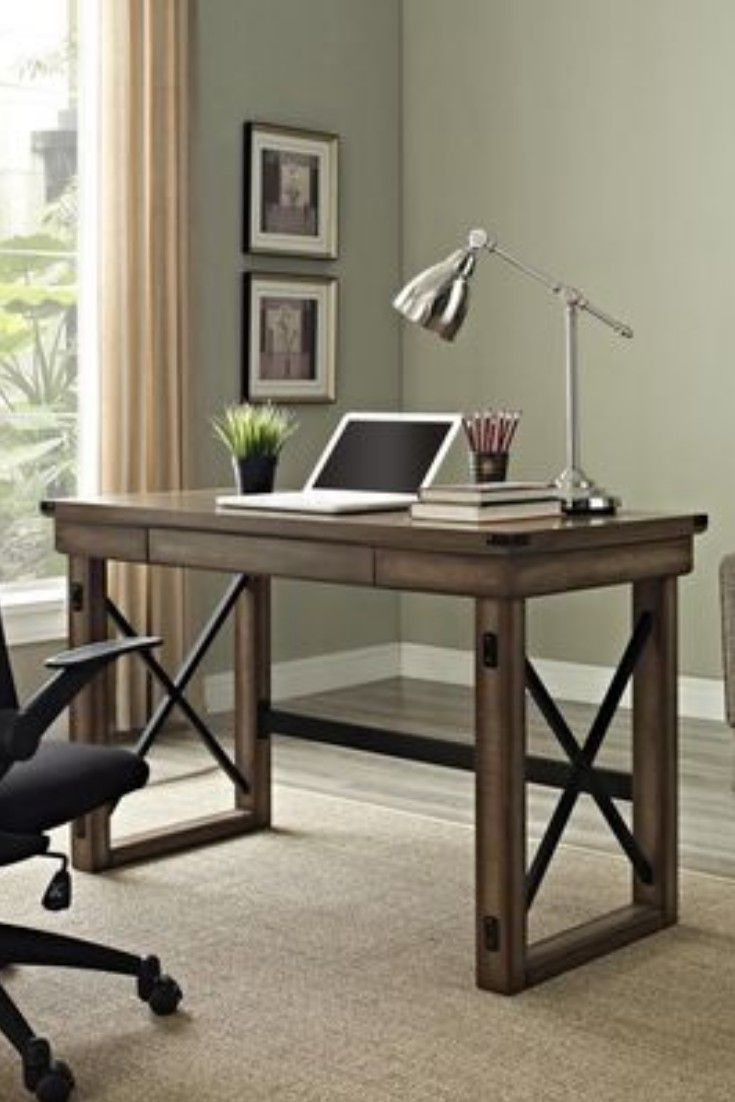Clean Lines No Muss No Fuss Rustic Home Offices Cheap Office Furniture Home Office Design