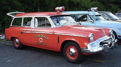 1955 Studebaker Commander wagon, Fire Chief car.