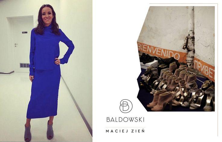 Kasia Kowalska wearing Baldowski by ZIEŃ #fashion #baldowski #byzien #zien #maciej #zien #kasia #kowalska # backstage