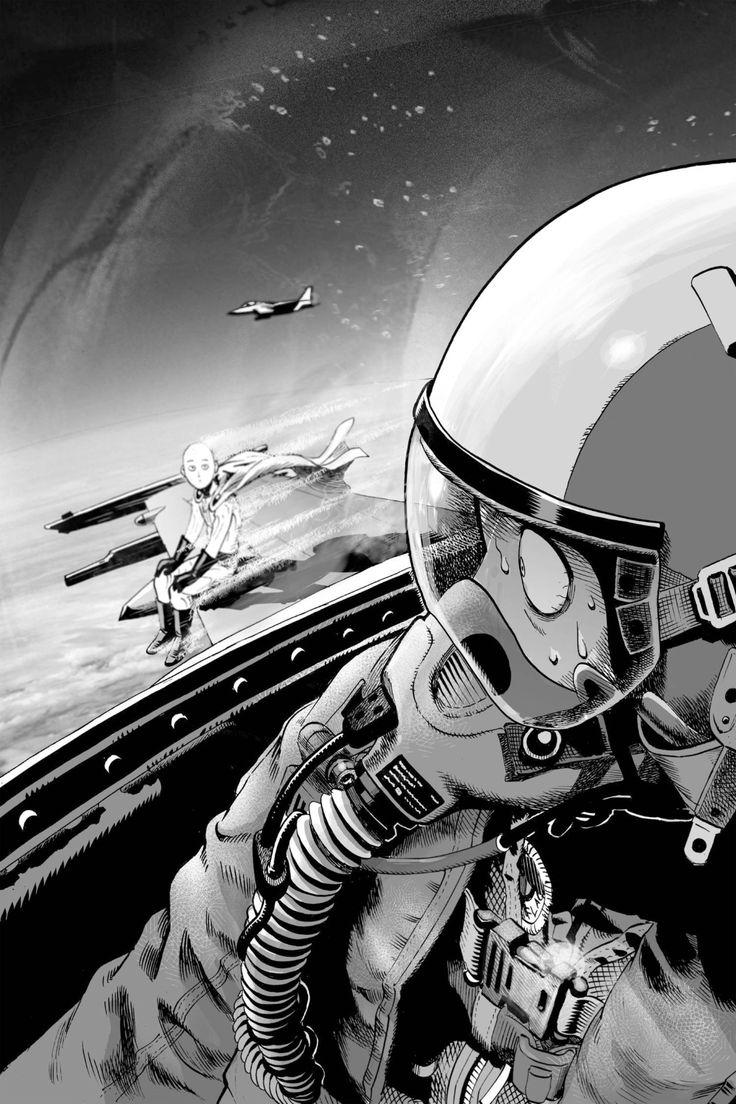 135 best yusuke murata images on pinterest comics manga - Funny one punch man wallpaper ...
