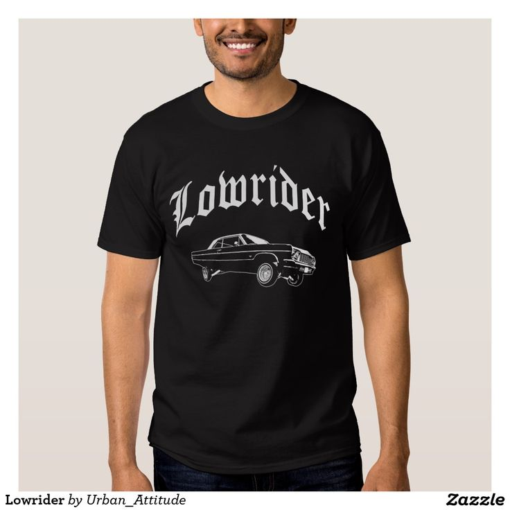 Urban Lowrider Car T-Shirt.