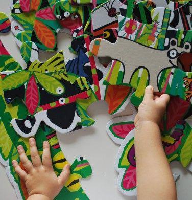 Giga puzzle Endo Amazonia #endo #endopl #sklependo #game #gra #zabawa #fun #family #kids #dzieci #dziecko #puzzle