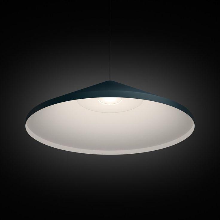 LED carbon fibre wall lamp