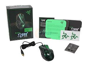 Razer Naga Hex MOBA PC Gaming Mouse - Green