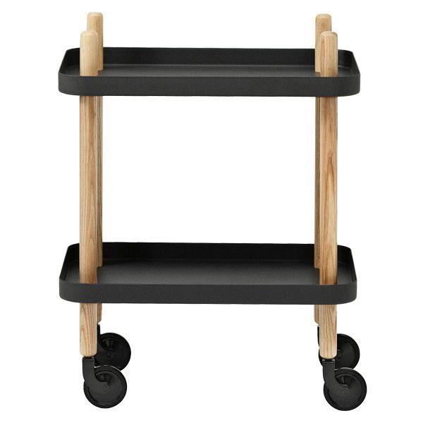 Black Block table by Normann Copenhagen.