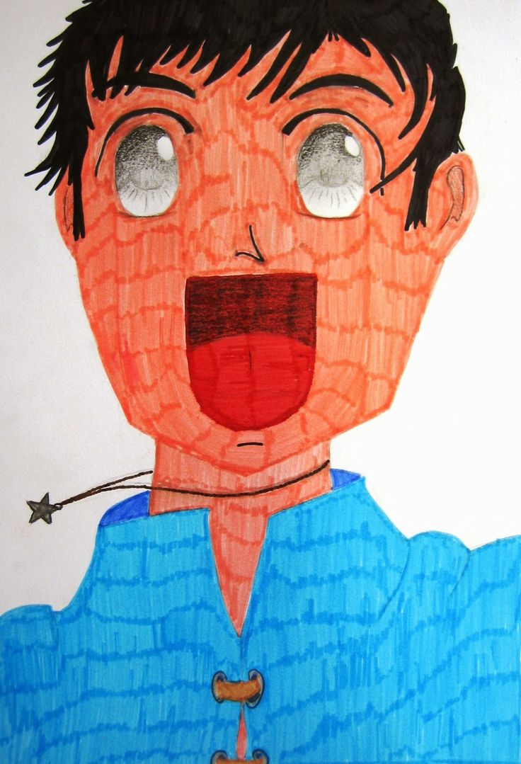 Drawin Manga, middle school project
