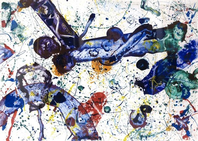 """Painting is about the beauty of space and the power of containment."" - Sam Francis"
