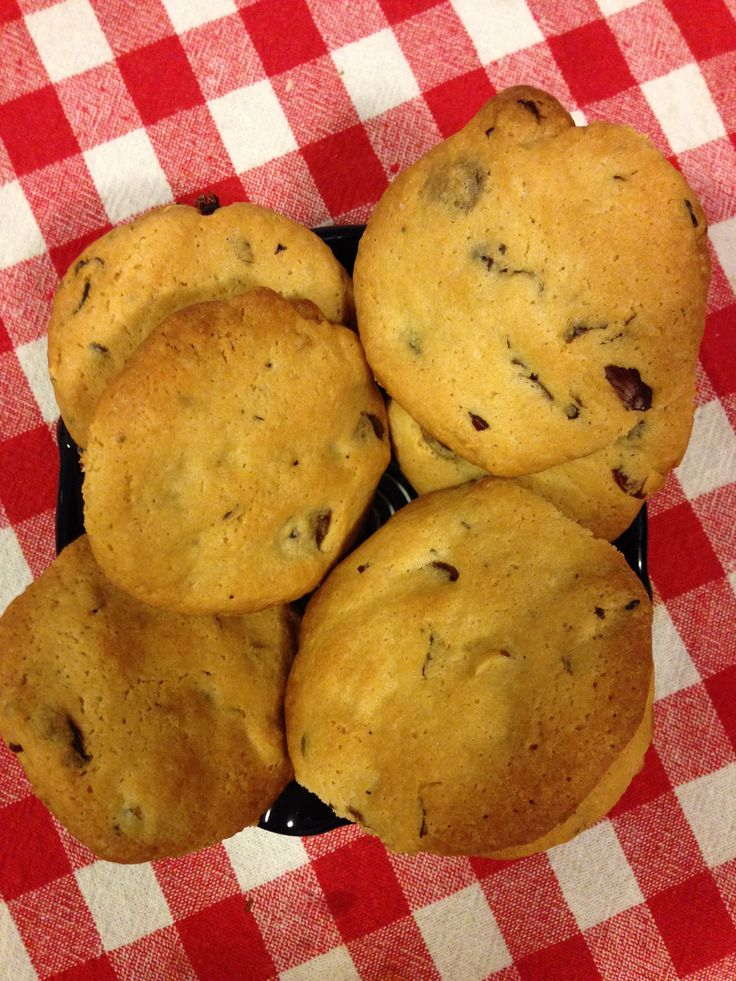 Buttery Chocolate Chip Cookies! Perfect for tea and coffee.