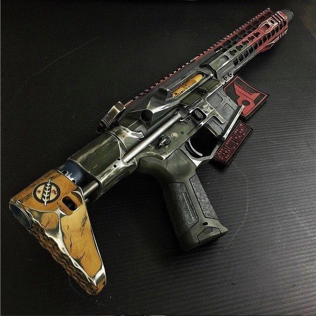 AR-15 Boba Fett Style