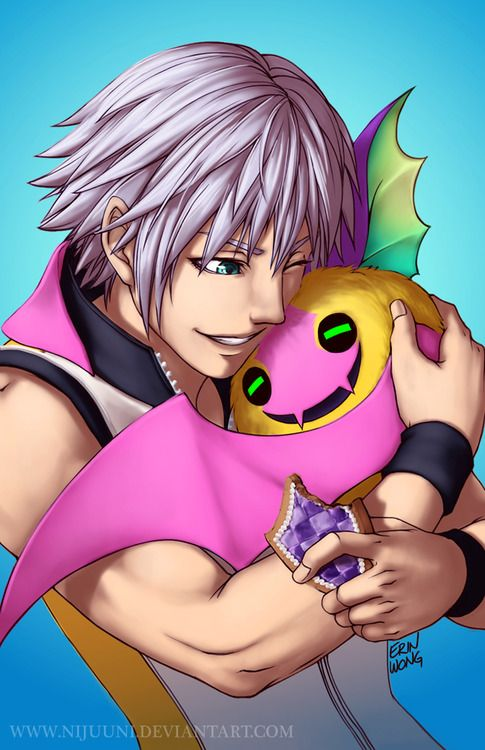 Riku - Kingdom Hearts Dream Drop Distance - Riku is so much sweeter!!!