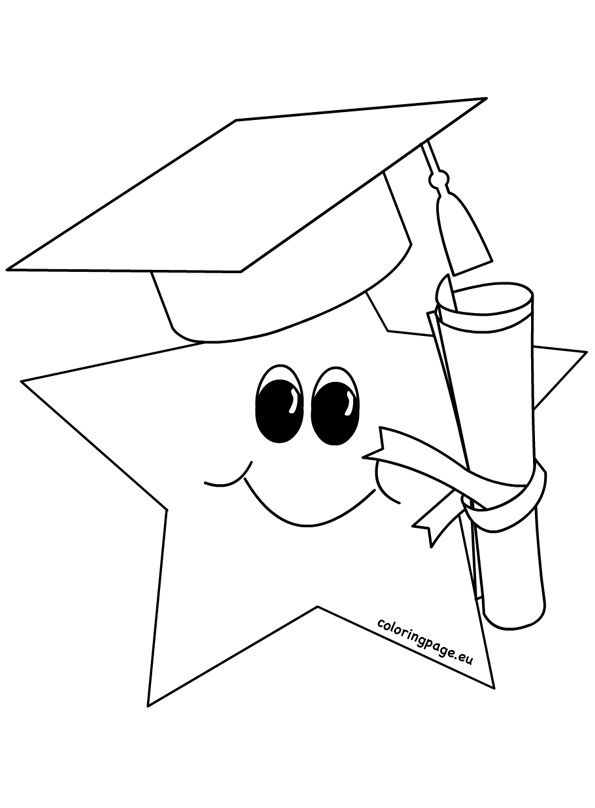 Graduation Coloring Pages 2017 Graduation Coloring Pages 2017 Graduation Col Kindergarten Coloring Pages Printable Coloring Pages Free Printable Coloring Pages