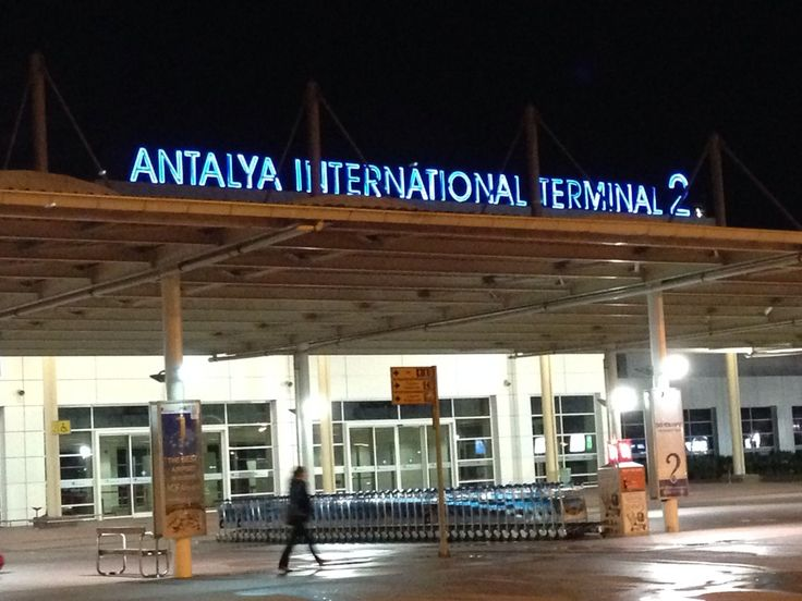 Antalya International Airport (AYT) i Antalya, Antalya