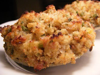 stuffed clams/ Quahogs | Only In Rhode Island | Pinterest
