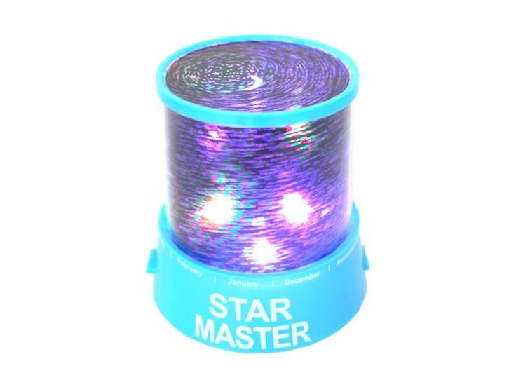 Star Master LED light- and music play- star field- (blue)