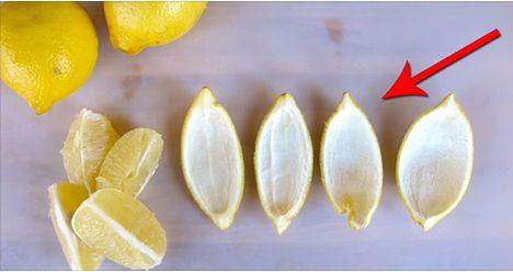 Nella maggior parte dei casi tutte le volte che usiamo il limone, la scorza viene automaticamente buttata senza alcuna difficoltà. In pochi sanno però che