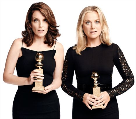 The Best Moments from the 2015 #GoldenGlobes | #AmyPoehler #TinaFey