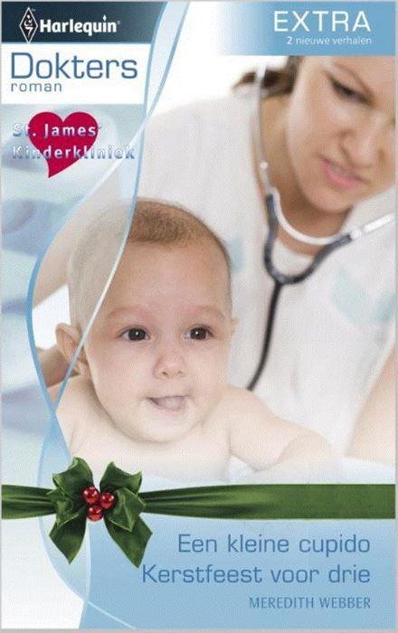 Een kleine cupido ; Kerstfeest voor drie  (1) EEN KLEINE CUPIDO - St. James' Kinderkliniek 6: Kindercardioloog Angus McDowell trekt onbedoeld de aandacht van het vrouwelijk deel van het ziekenhuispersoneel - zoals die van Kate Armstrong. Toch ontwijkt ze hem. Angus' zoontje heeft haar echter al in zijn hart gesloten: hij wil haar zelfs graag als mama! (2) KERSTFEEST VOOR DRIE - St. James' Kinderkliniek 7: De mooiste droom van de negenjarige Emily komt uit: haar vader verschijnt volkomen…